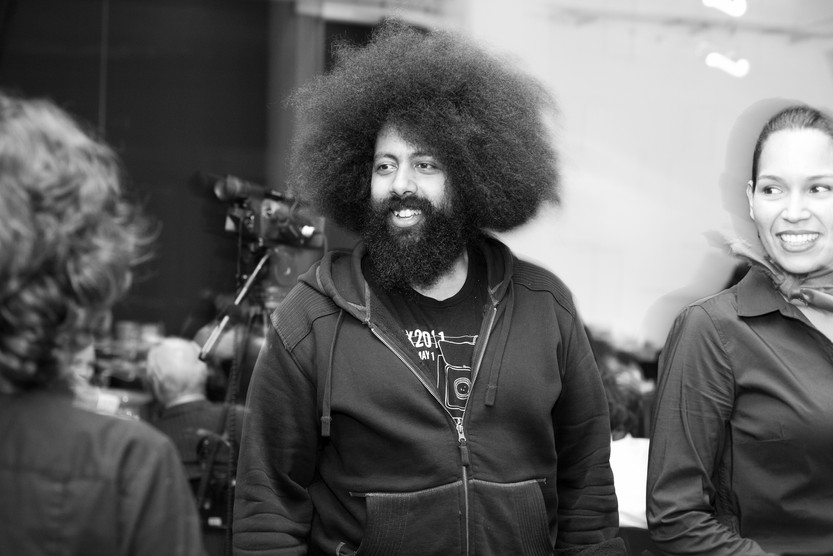 Comedian Reggie Watts