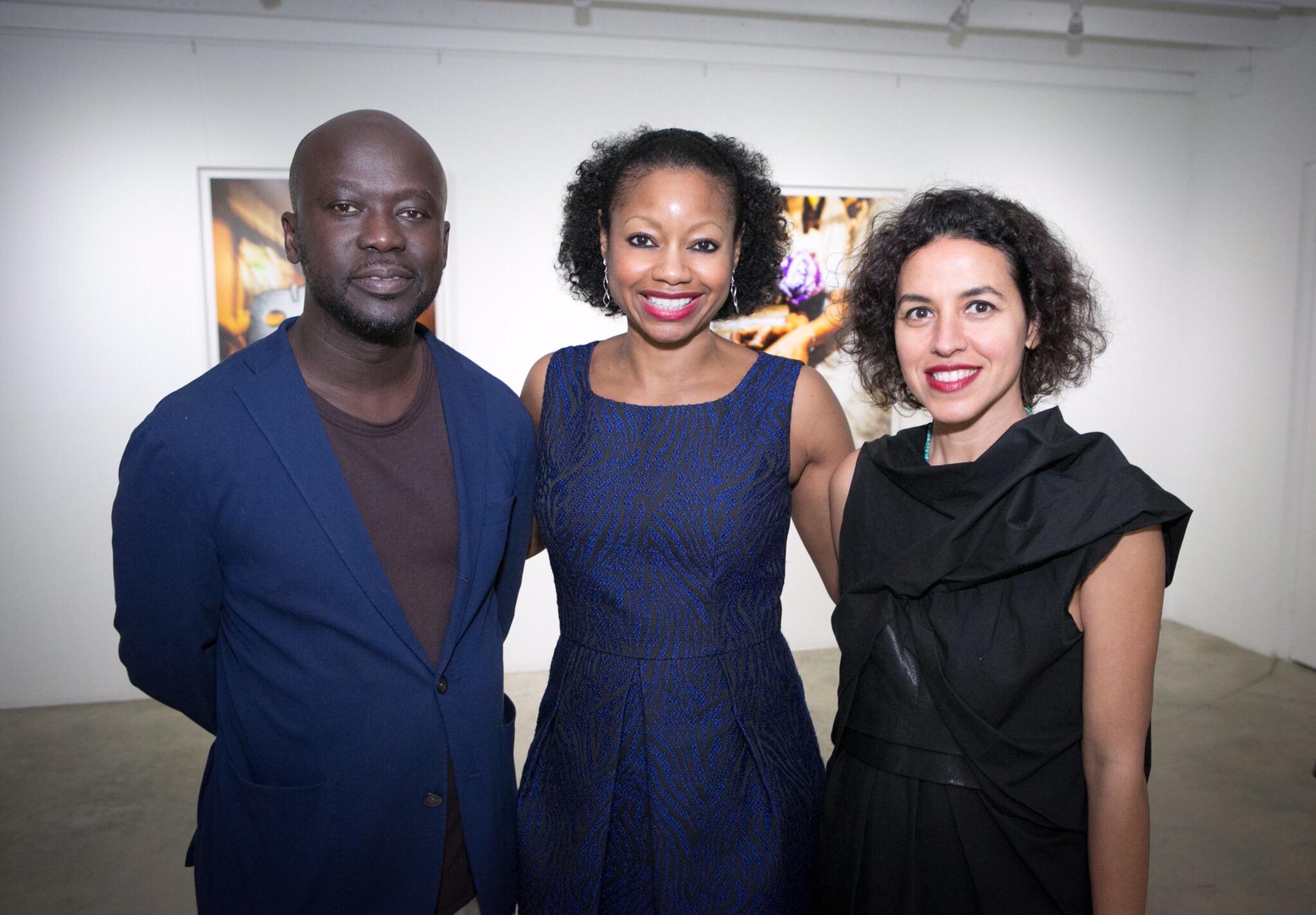 Architect David Adjaye, Donnamarie Baptiste + architect Shahira Fahmy
