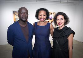 Sir David Adjaye, Donnamarie Baptiste and Shahira Fahamy
