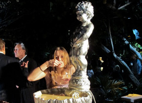 Private event with Kreemart during Art Basel Miami Beach Sculpture: Angel Otero
