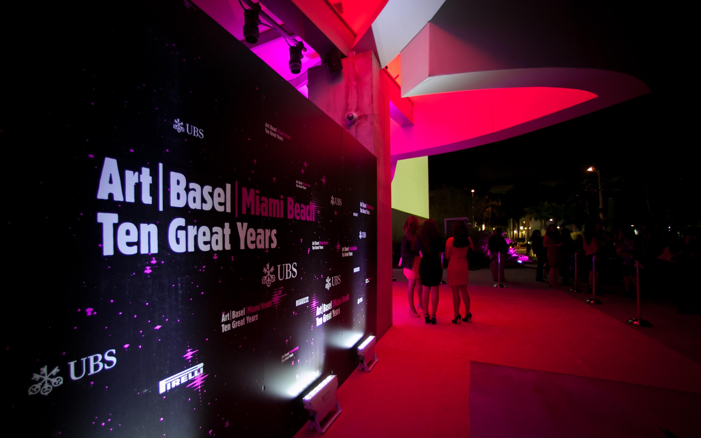 Art Basel Event @ New World Center