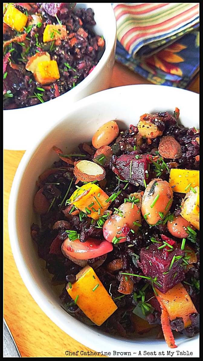 Black Rice, Roasted Beets, Cannellini Beans & Summer Squash - A Formula Meal