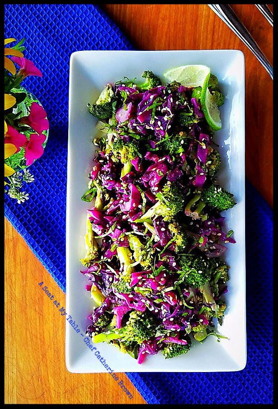 The Marriage of Broccoli to Purple Cabbage