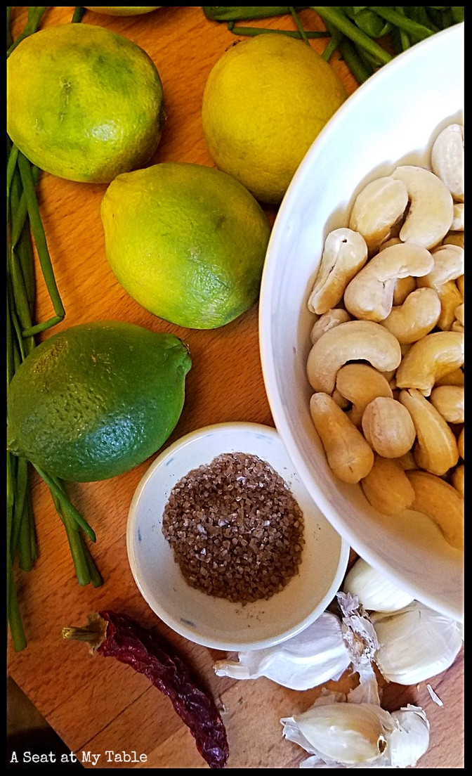 Garlic Lime Crema for Cilantro Haters [vegan]