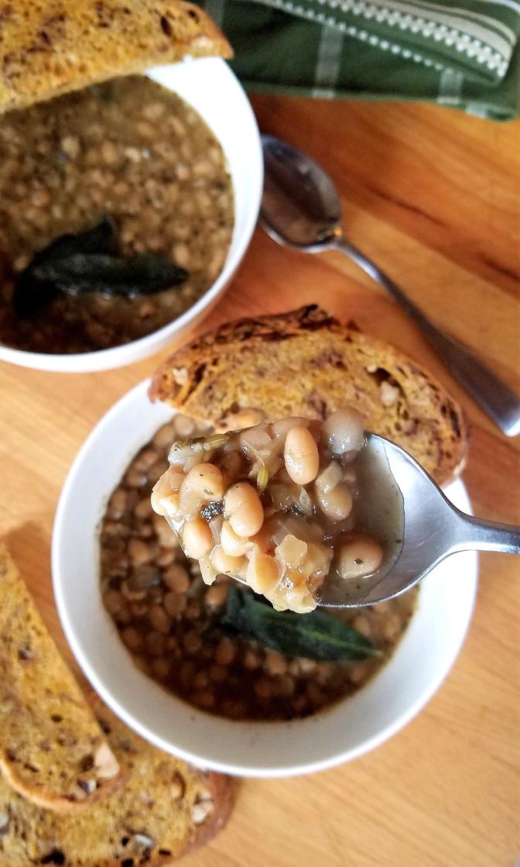 Brothy Navy Beans