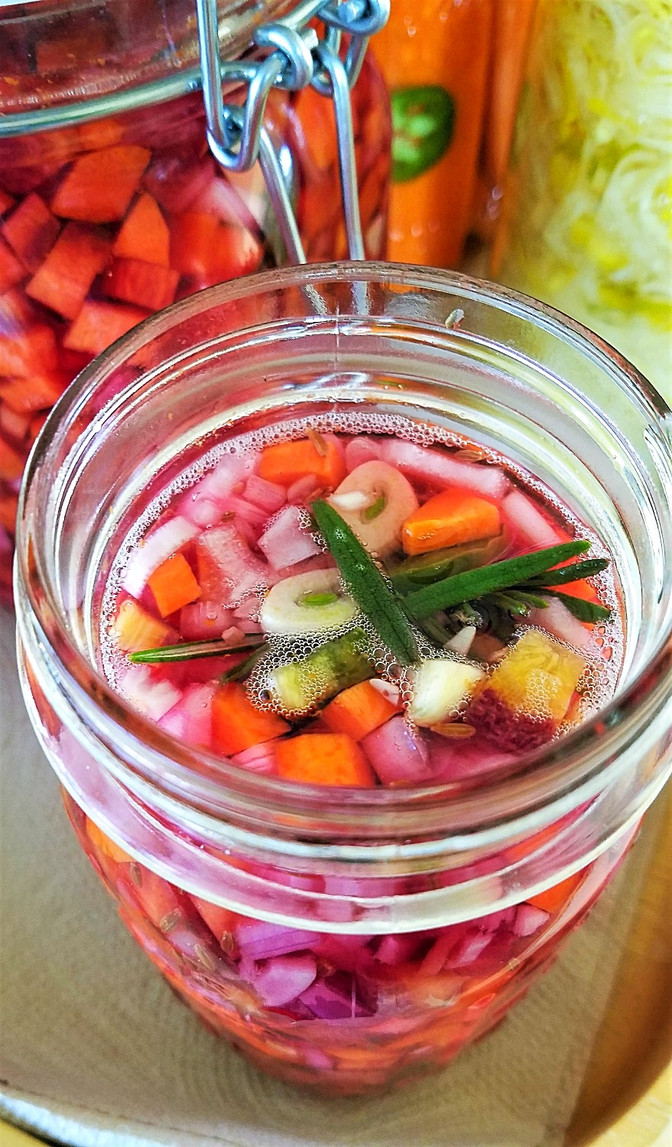 Lacto-Fermented Moroccan-Spiced Carrots
