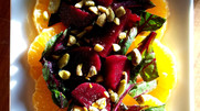 Winter Beetroot & Greens Citrus Salad