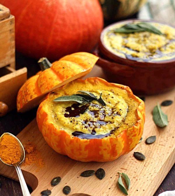 A Vegan Thanksgiving - Part I ~ Aperitifs, Soups, Salads, Small Bites & Desserts