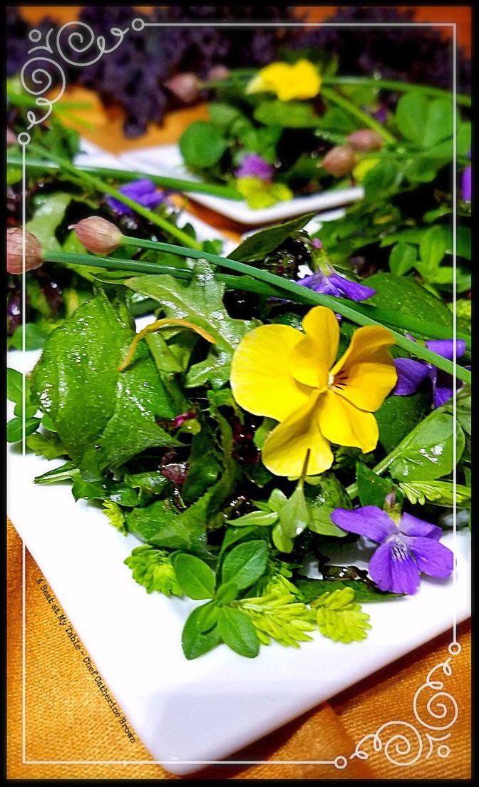 Spring Forest Salad