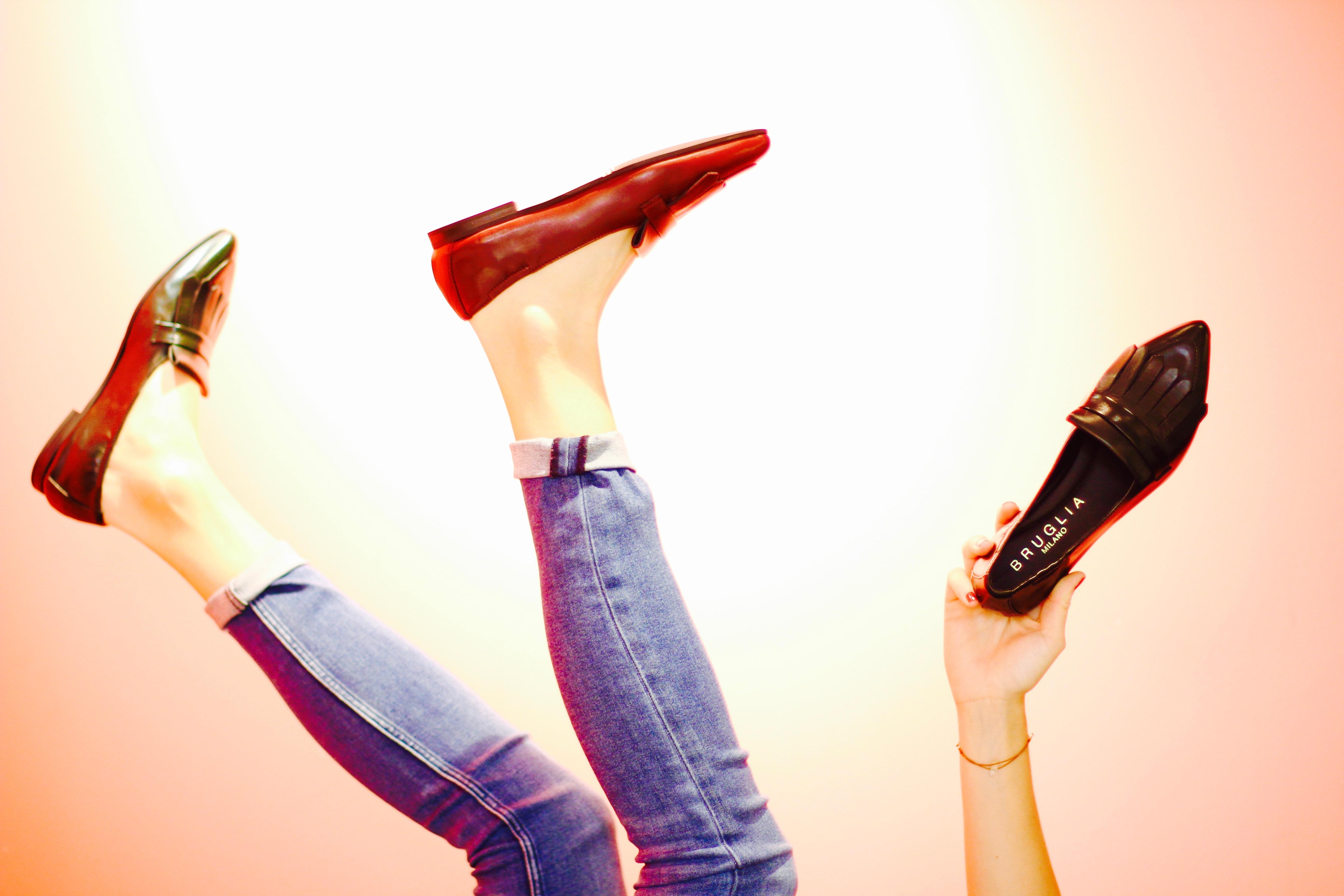 Damenschuhe Loafers