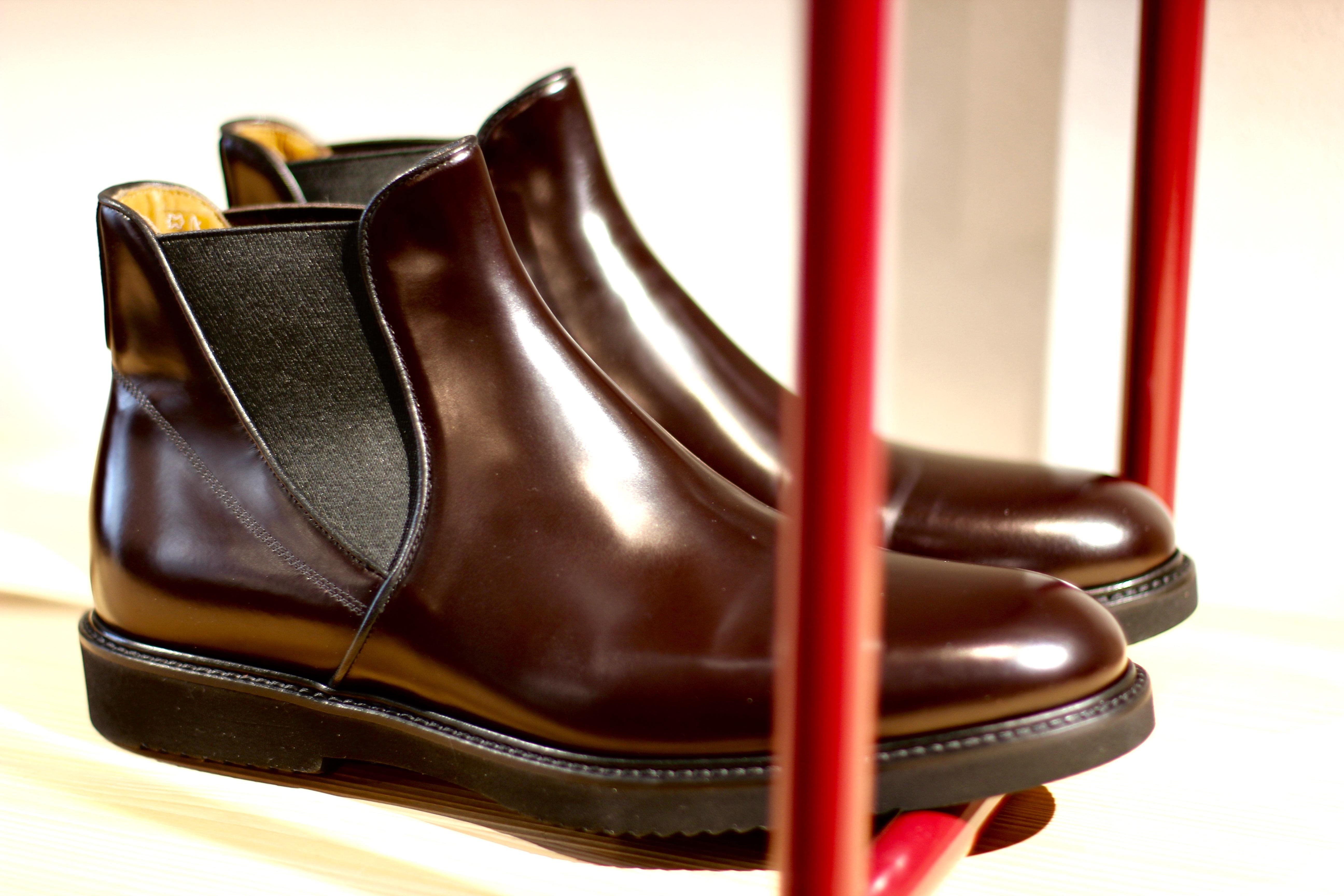 Herrenschuhe Chelsea Boots Rossi