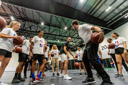 YMCA175 NBA skills clinic