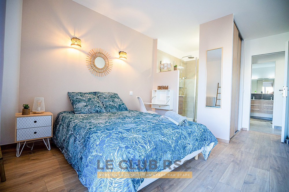 Chambre neuf immobilier photo