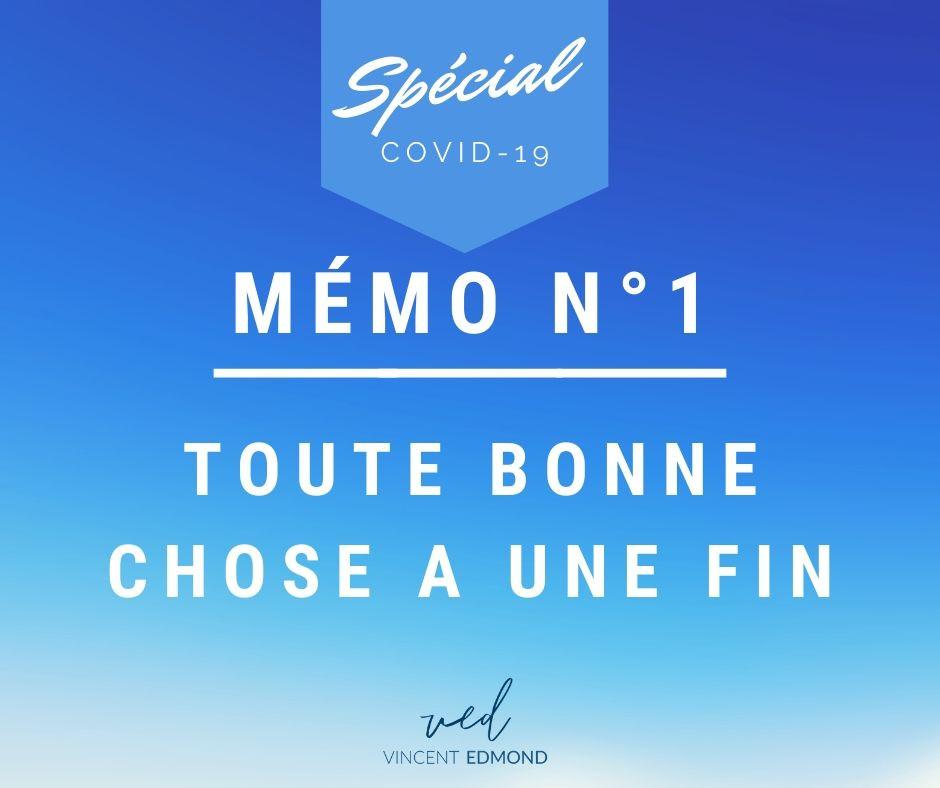Spécial covid-19 memo 1