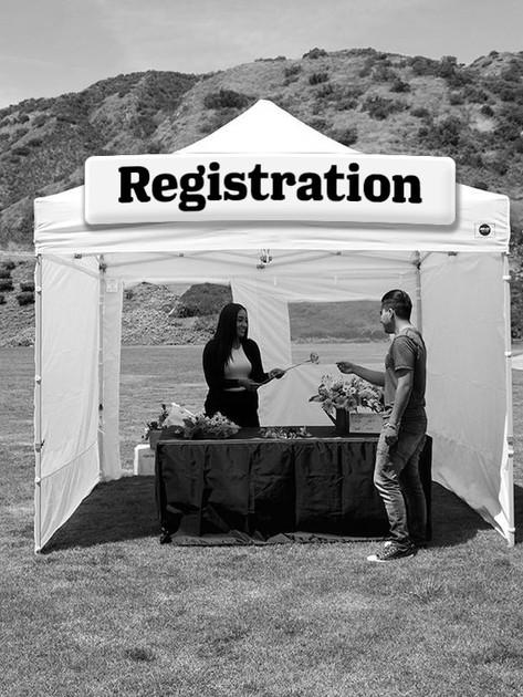 Registration Tent [SOLD]
