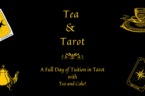 Tea and Tarot One Day Course - 11th July 2021