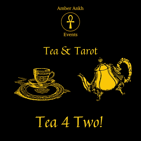 Tea and Tarot One Day Course - 11th July 2021 - Tea for Two
