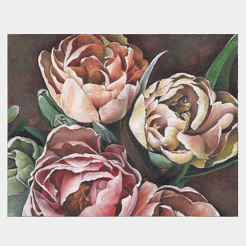 """Tulip Trio, 8"""" x 10"""""""