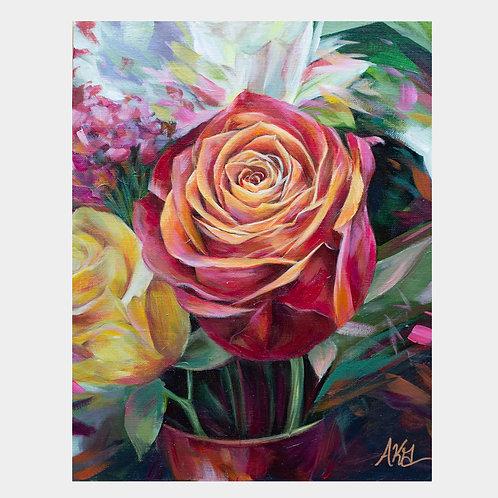 "Rose & Company, 11""x 14"""