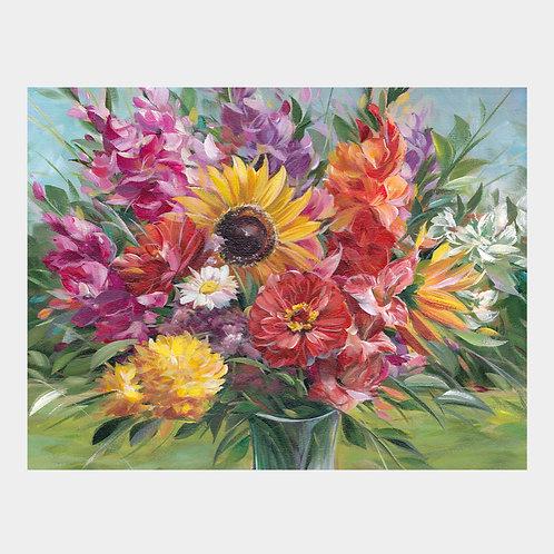 """Mixed Bouquet, 16"""" x 20"""""""