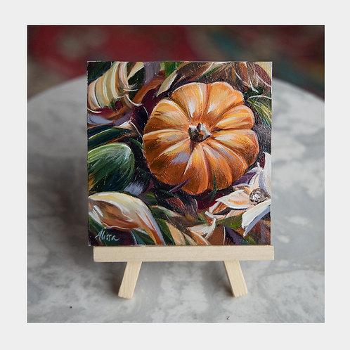 """Pumpkin Potpourri, 4"""" x 4"""""""