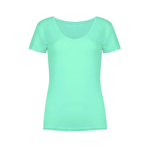 SS-6922 Cotton Round Neck T-Shirt (Ladies)