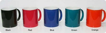 Color with Inner White Custom Printed Mugs