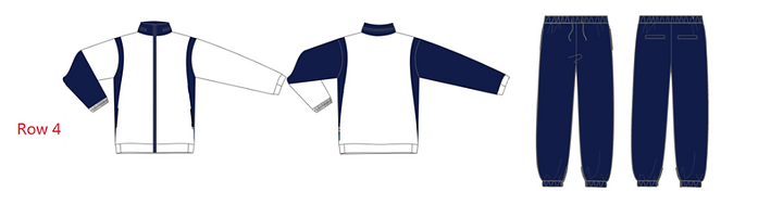Custom Tracksuit - White