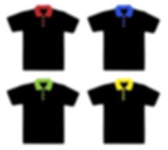 Printed polo T-shirts