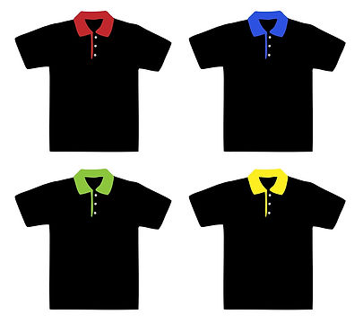 Printed polo T-shirts
