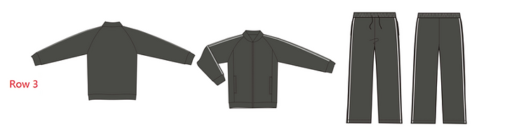 Custom Tracksuit - Grey