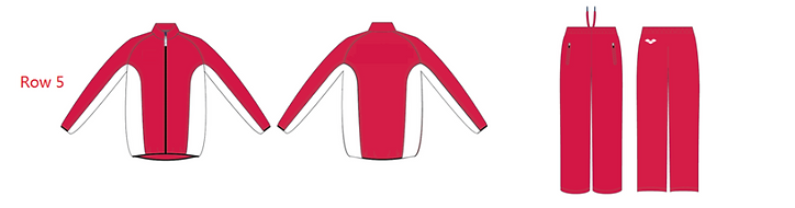 Custom Tracksuit - Red