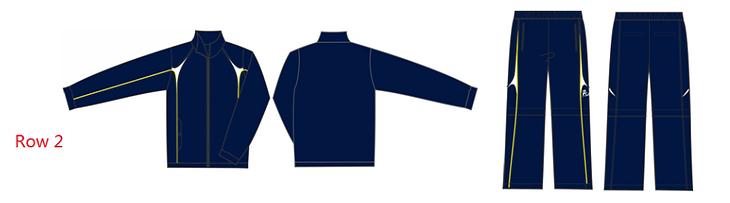 Custom Tracksuit - Blue