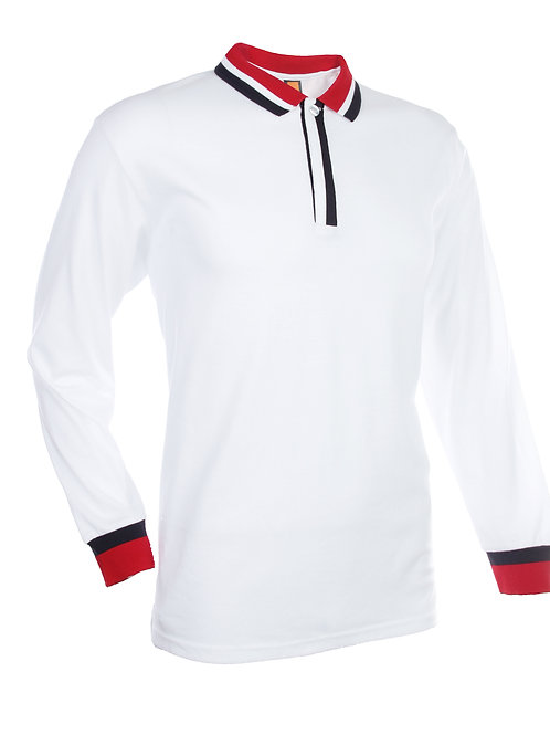 AV-OS-SJ05 Long Sleeve Jersey Polo (Unisex)