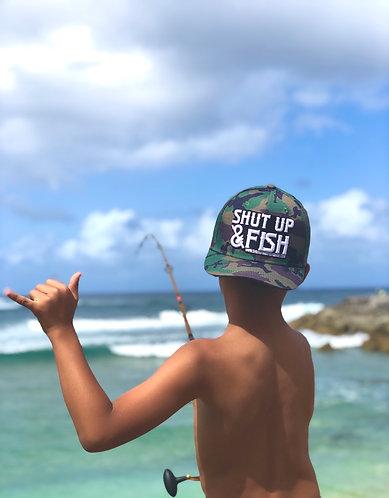 SUAF Camo Youth SnapBack