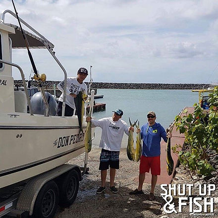 Another successful day of #charterfishing on The Don Pedro 🎣 #gonefishing #pacificocean #guam #salt