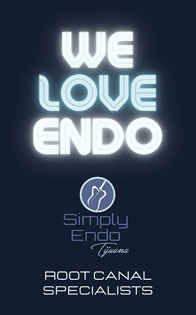we love endo, root canal tijuana. Dental office in tijuana, specialized in root canal treatment