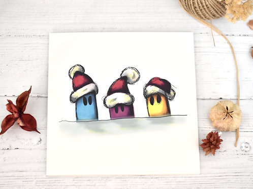 Christmas Card | 3 Creatures