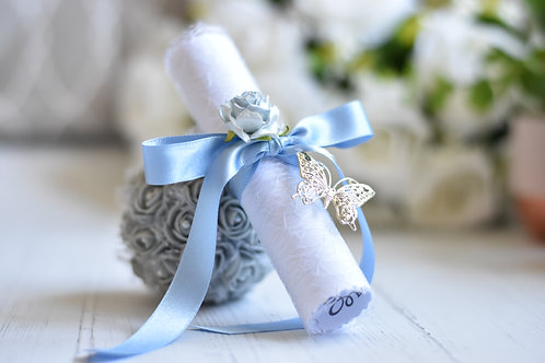 Bridesmaid Proposal   Light Blue   Will you be my Flower Girl   Maid of Honour