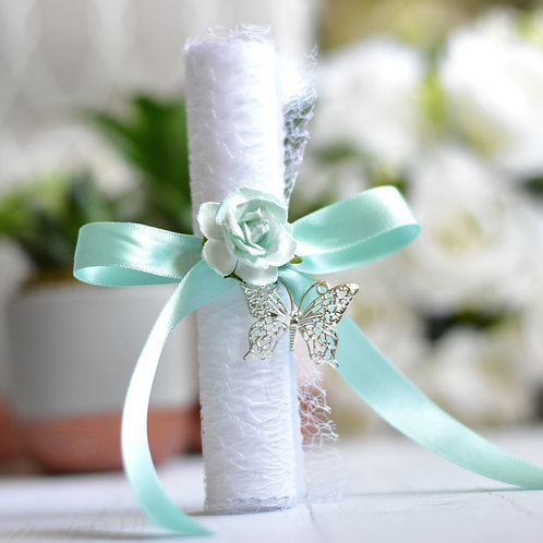 Bridesmaid Proposal Scroll | Mint Green | Maid of Honour