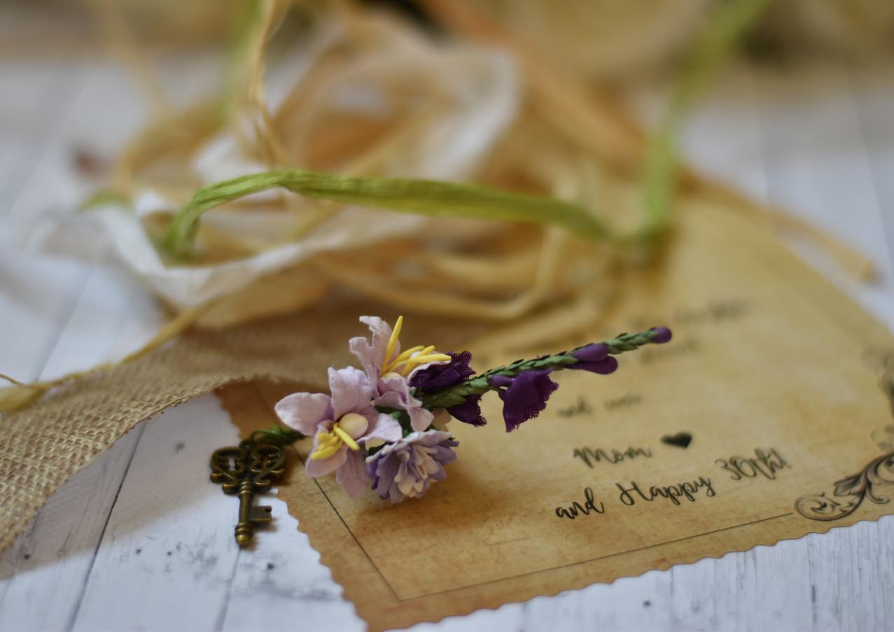 Earthy Vintage Birthday Letter