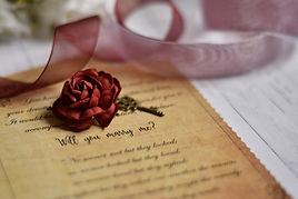 Vintage Marriage Proposal