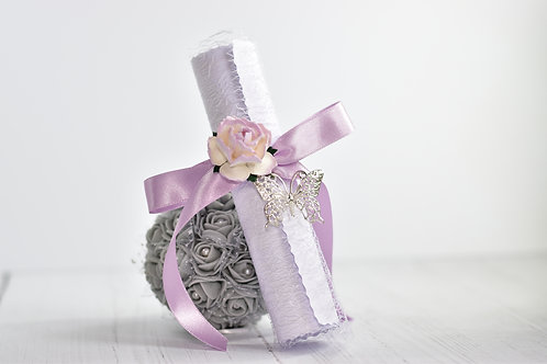 Bridesmaid Proposal Scroll | Lilac & Lavender | Flower Girls | Maid of Honour