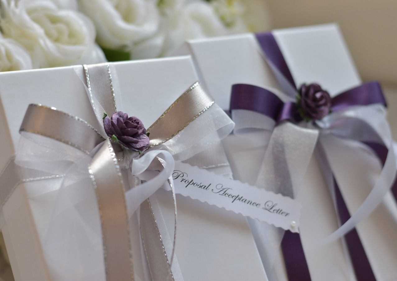 Marriage Proposal and Acceptance Letters