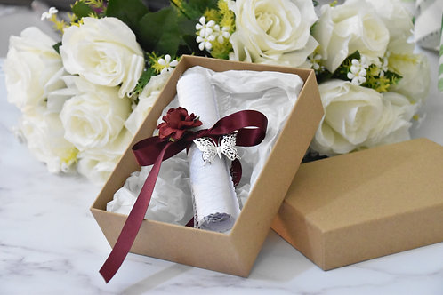 Scroll in Gift Box | Personalised
