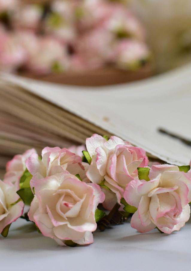Bridal Shower Invitation Scrolls - Pink & Gold