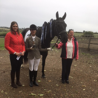 Winner of Dressage league Intro Champ.jp