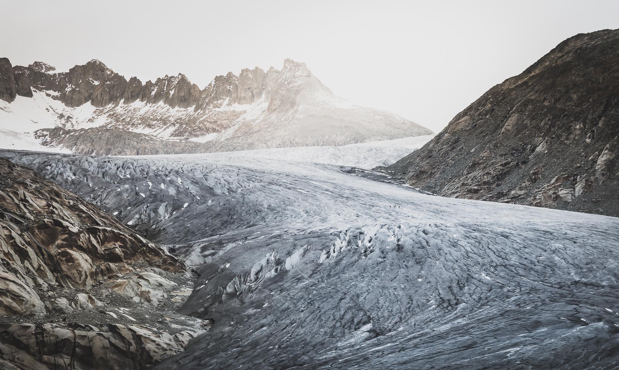 Rhonegletscher, Alpen