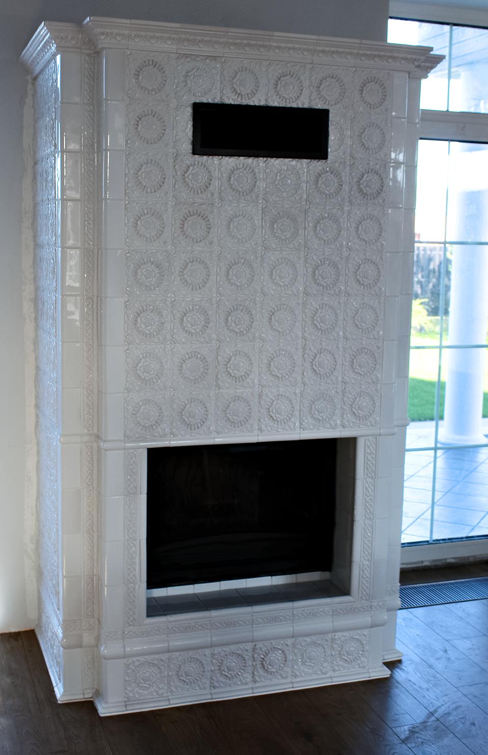 Изразцовый камин «Горки-10»