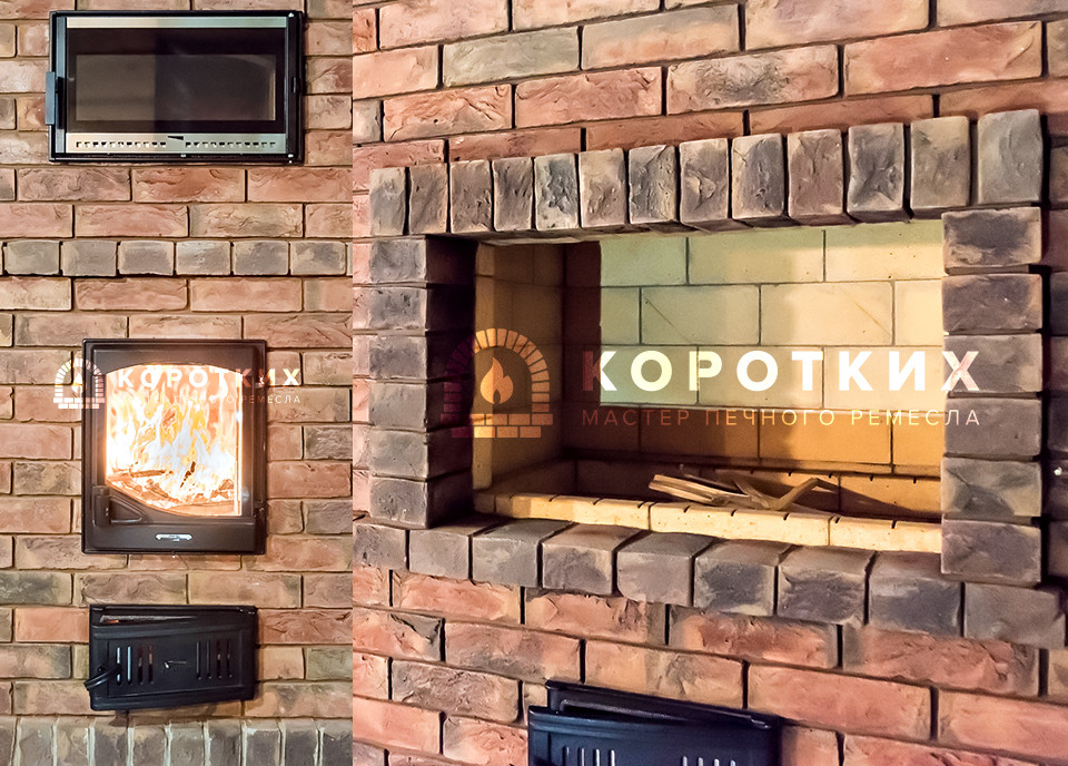 Печной кухонный комплекс «Захарово»
